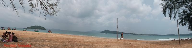 Sihanoukville , paraíso playero de Camboya
