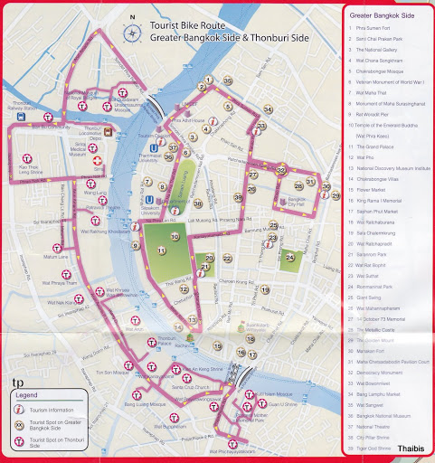 mapa bici