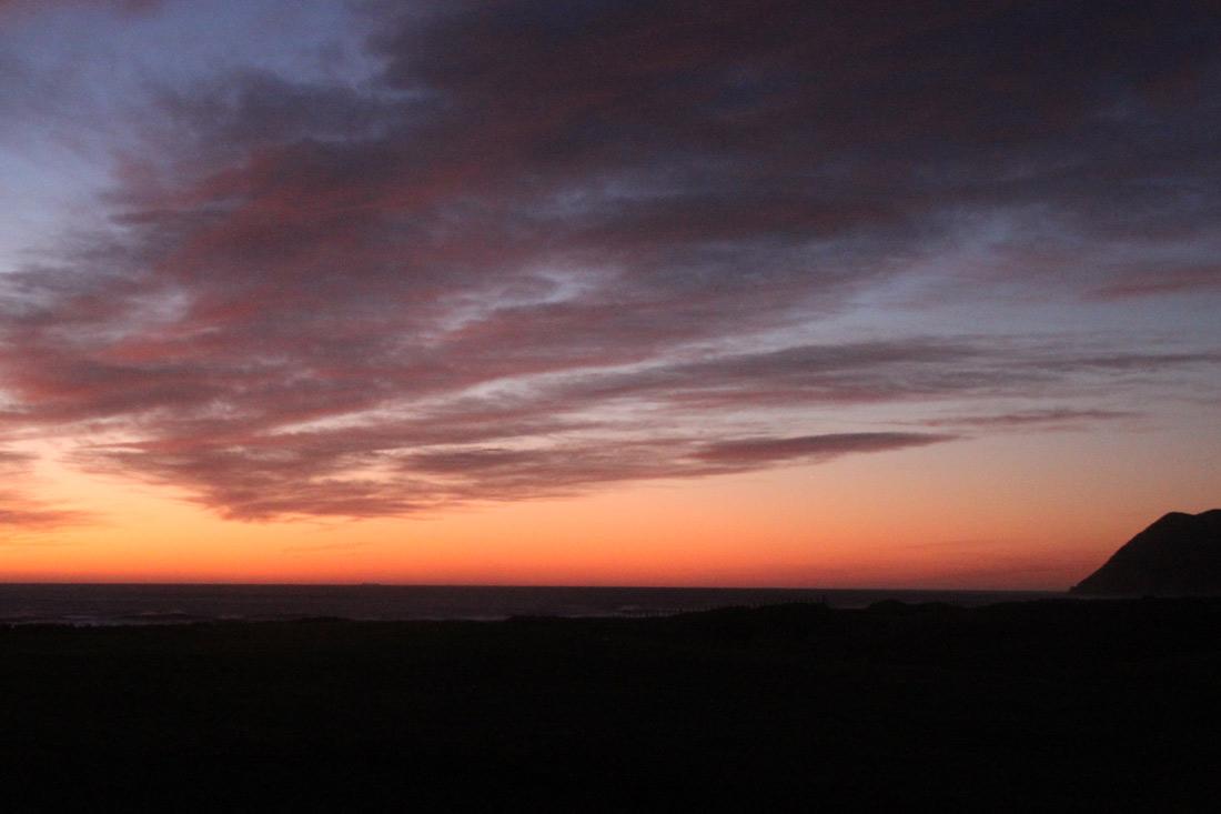 East Cape, el primer amanecer del planeta