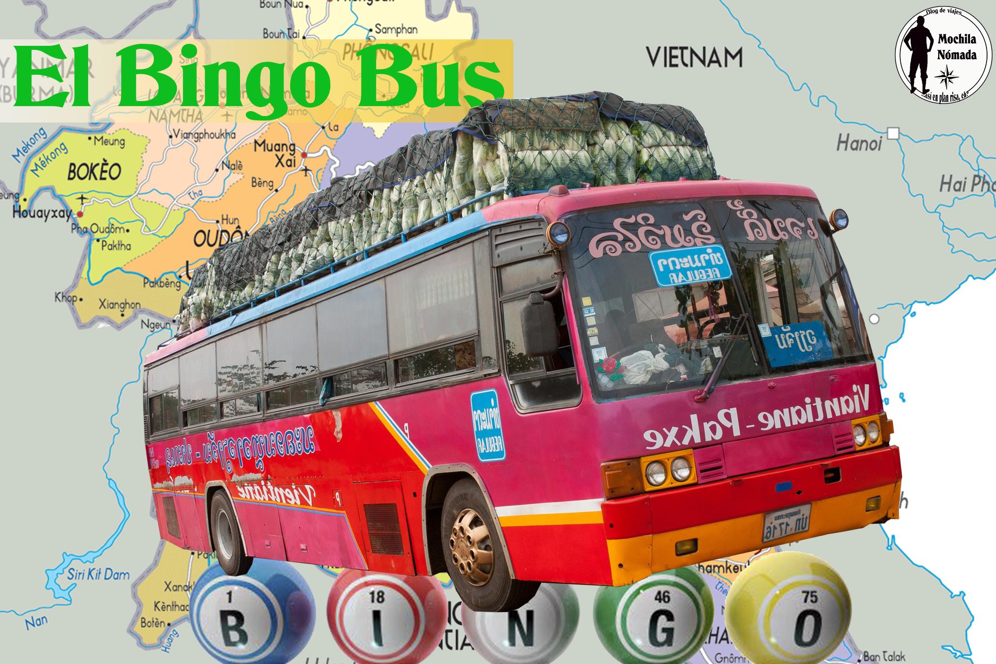 El Bingo-bus … Transporte en Laos WTF?!