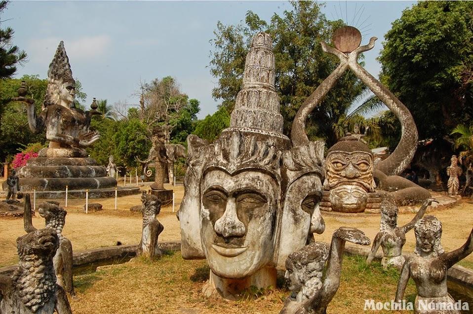 Buda Park / Xieng Khuan – Qué ver en Vientiane