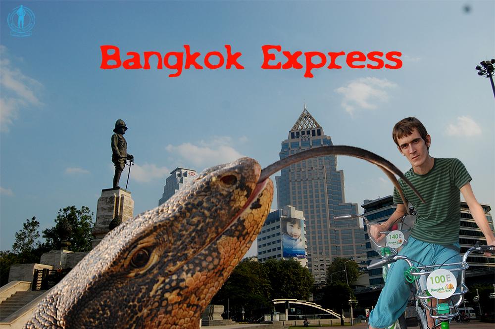 Bangkok Express – Caos sobre ruedas desde Lumpini Park