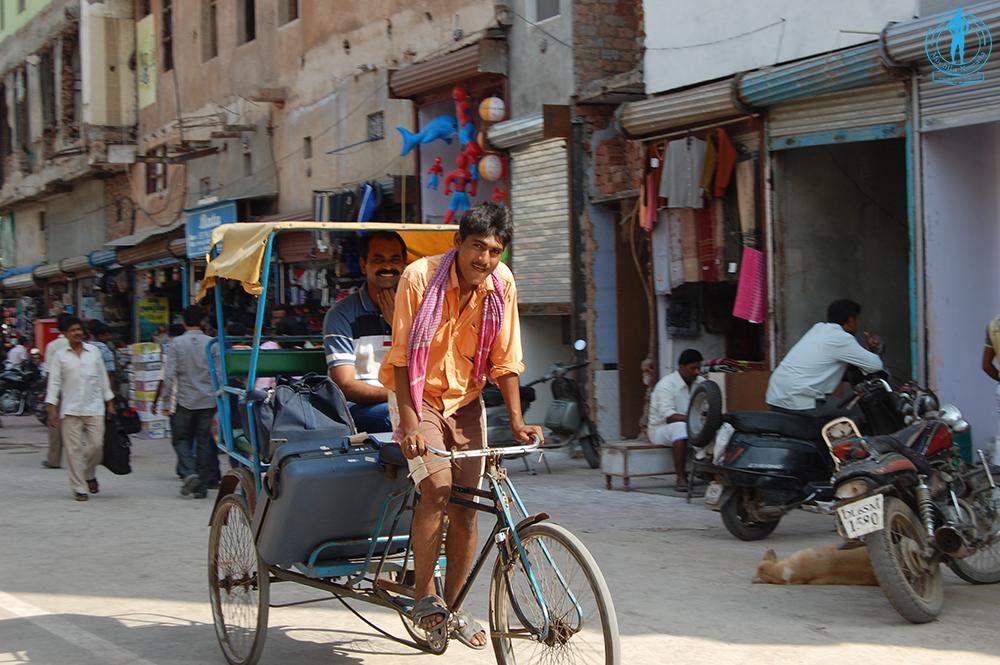 Nueva Delhi , aterrizando en India