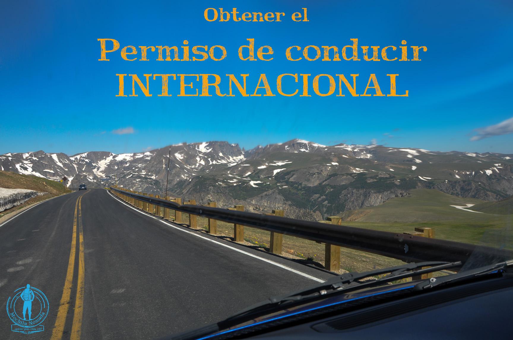 Cómo obtener el permiso internacional para conducir