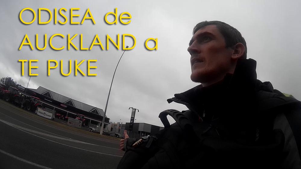 Odisea de Auckland a  Te Puke
