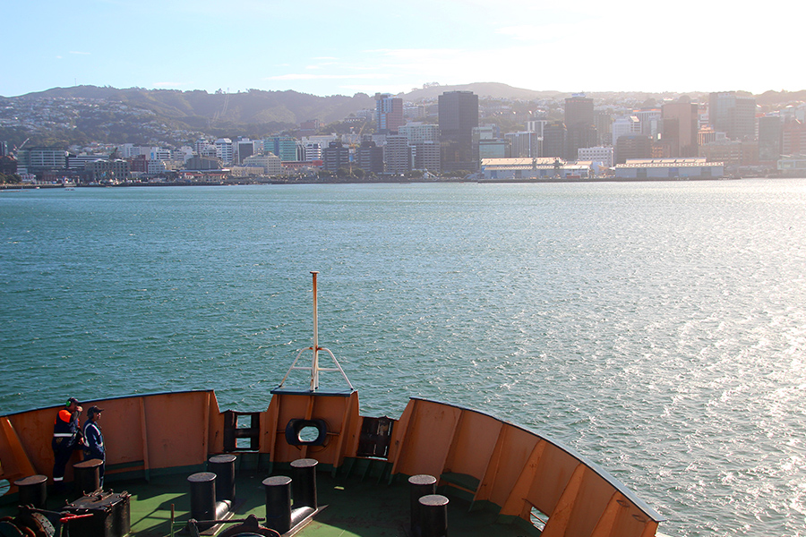 Cruzar de Isla a Isla en Nueva Zelanda